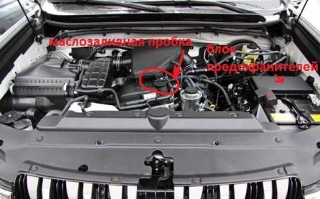 Аккумулятор на Тойота Ленд Крузер прадо 150 дизель