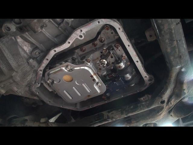 Через сколько менять масло в коробке автомат на Киа Сид