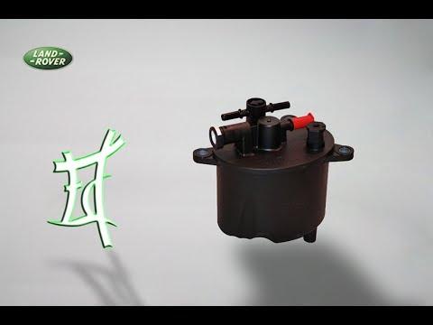 Фрилендер 2 замена топливного фильтра на Ленд Ровер Фрилендер