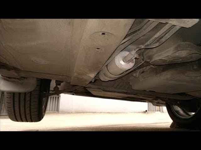 Где стоит топливный фильтр на БМВ Х5 е70 бензин