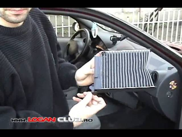 Как поменять фильтр салона на Приоре без кондиционера видео
