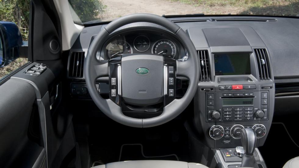 Как поменять масло на Land Rover Freelander 2