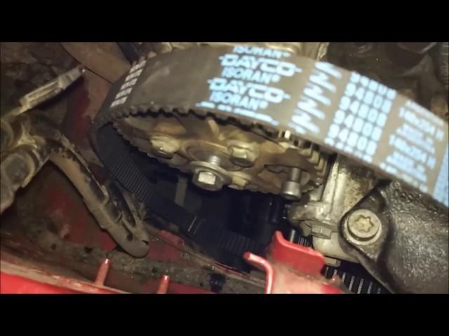 Как поменять ремень генератора на Пежо Боксер 3