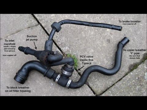 Как проверить клапан вентиляции картерных газов БМВ Х5 е53