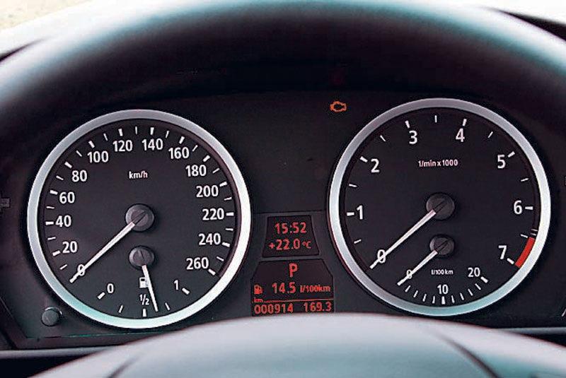 Как проверить температуру двигателя на БМВ е60 2004