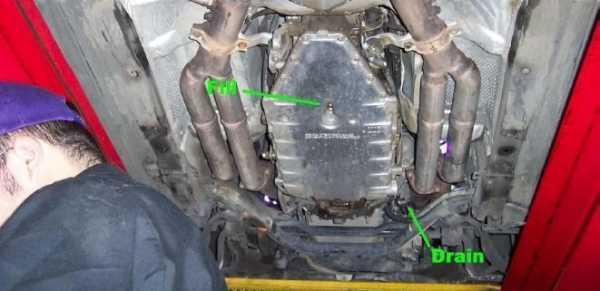 Как проверить уровень масла в АКПП БМВ е46