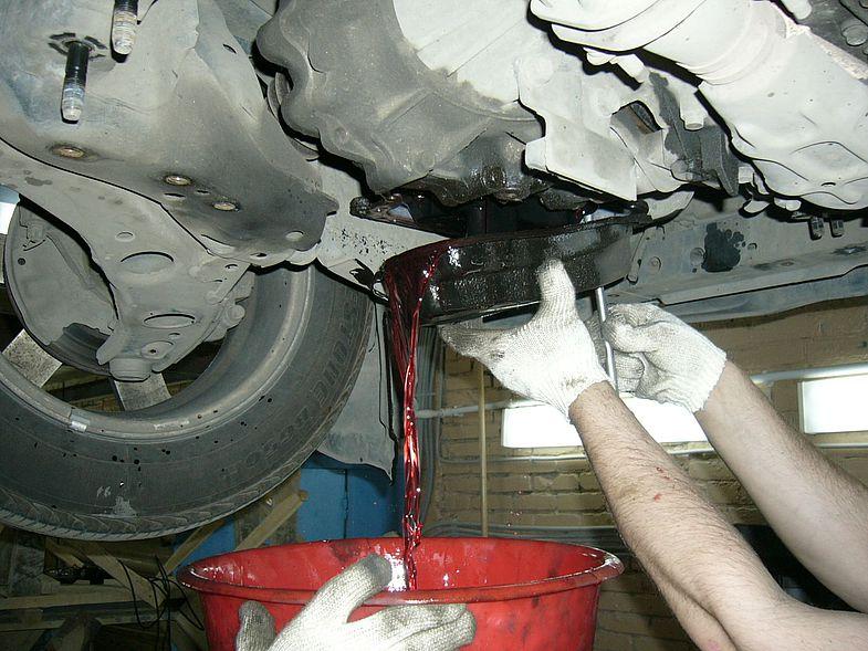 Как проверить уровень масла в АКПП BMW X6