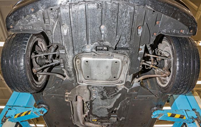 Как проверить уровень масла в двигателе БМВ 116