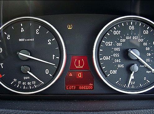 Как сбросить ошибку давления в шинах BMW e60