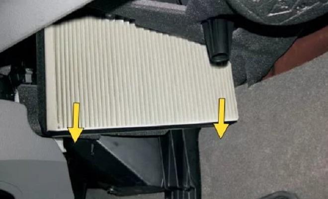 Как в Рено Меган 3 поменять салонный фильтр