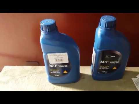 Как залить масло в механическую коробку Киа Сид