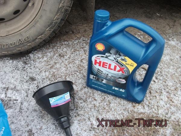Как залить масло в раздатку на УАЗ 469