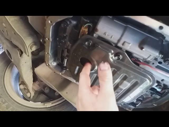 Как заменить масло в коробке автомат в тойоте
