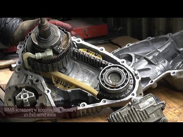 Как заменить масло в раздатке на БМВ Х5