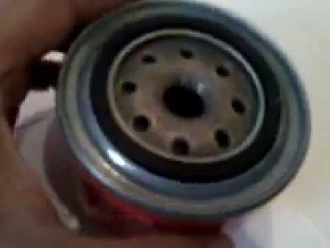 Как заменить масляный фильтр на 16 клапанном Лада Ларгус
