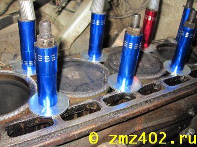 Как заменить набивку на уазе на 402 двигателе