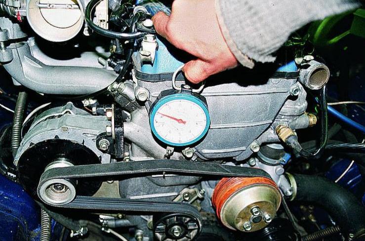 Как заменить натяжной ролик ремня генератора на УАЗ