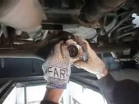 Как заменить передний подшипник хвостовика моста на УАЗ Патриот