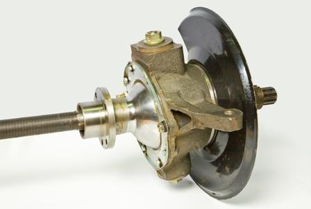 Как заменить шкворни поворотного кулака на УАЗ Хантер