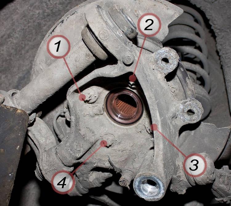 Как заменить задний подшипник ступицы на БМВ е34