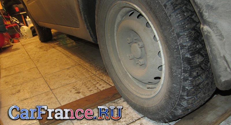 Каким должно быть давление в шинах на Приоре