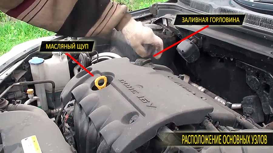 Какое масло лить в двигатель Киа Сид 2010