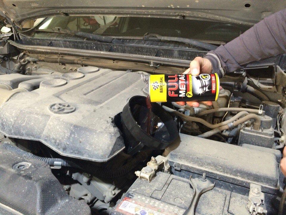 Какое масло лить в Toyota Land Cruiser Prado