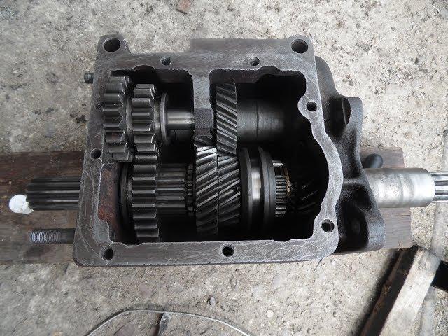 Какое масло залить в коробку раздатку УАЗ 452