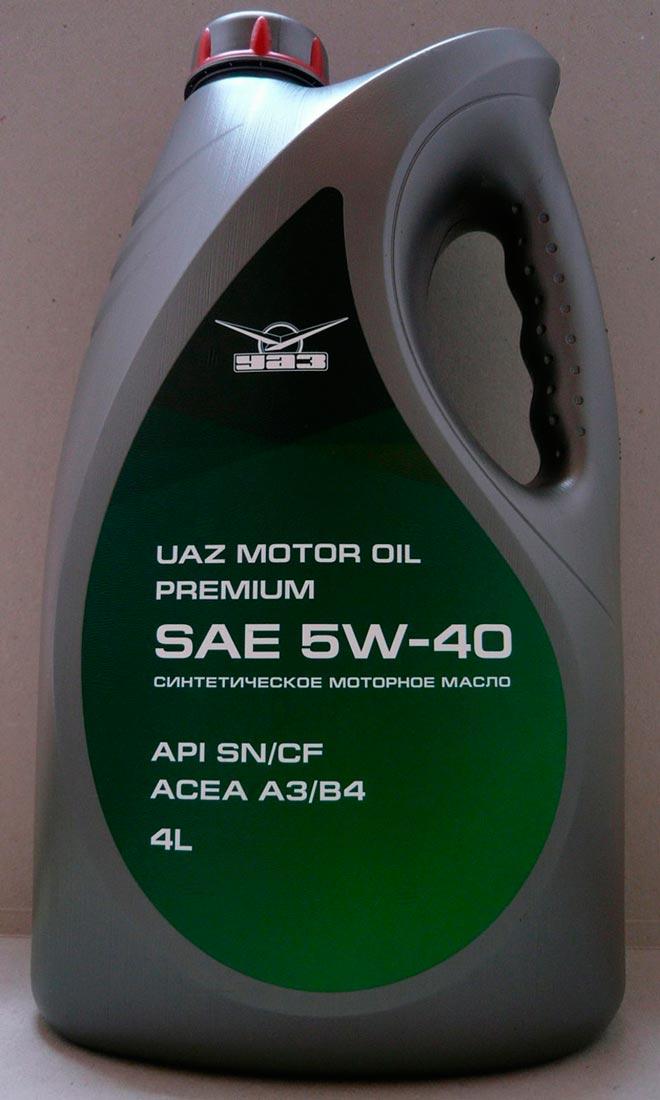 Какое масло залито в УАЗ Патриот с завода