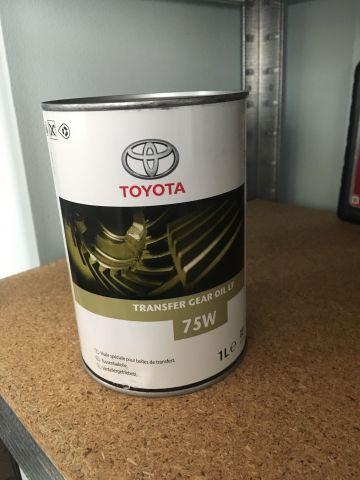 Масло в раздатку Toyota Land Cruiser Prado 120