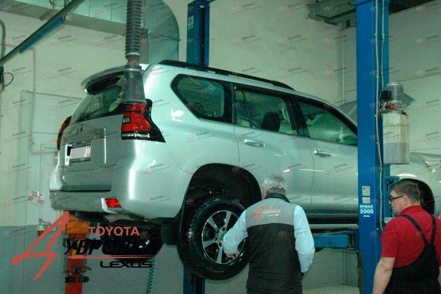 Моторное масло для Тойота Ленд Крузер прадо 150