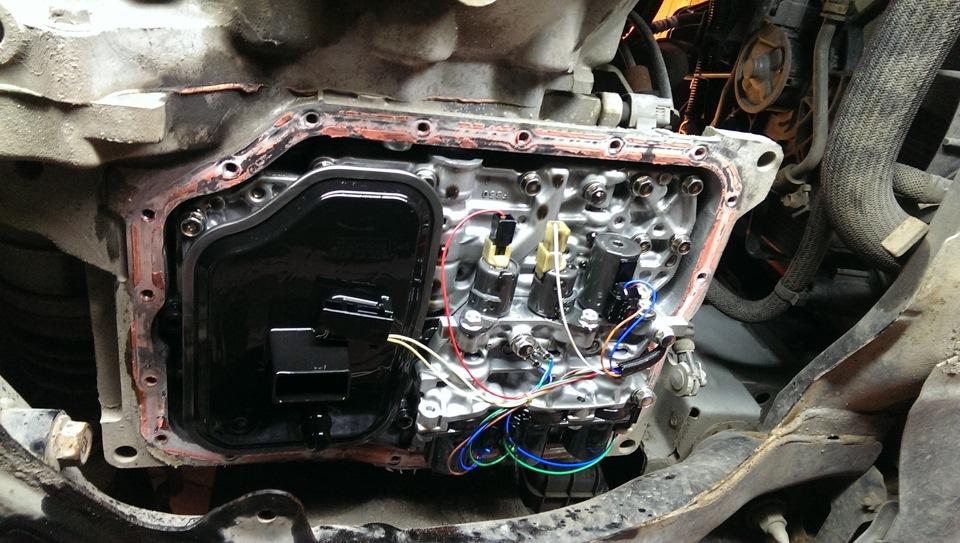 Проверка уровня масла в АКПП Mazda 6 Gh