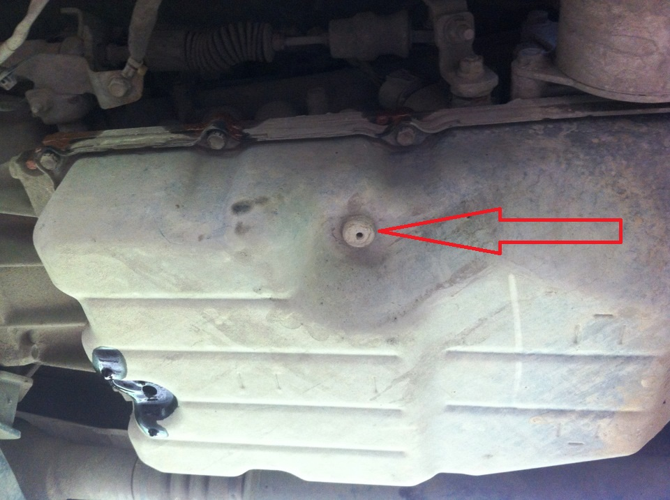 Проверка уровня масла в АКПП Тойота Ленд Крузер 200