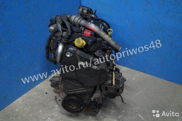 Ремонт двигателя Рено Меган 2 1.5 dci 106