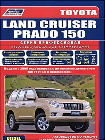 Ремонт и эксплуатация Тойота Ленд Крузер прадо 150