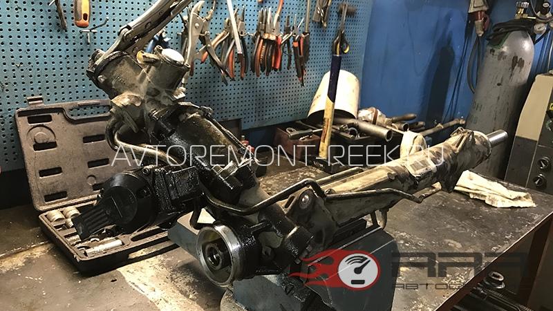 Ремонт рулевой рейки БМВ Х5 е70 в Москве
