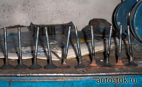 Рено Логан двигатель 1.6 при обрыве ремня ГРМ гнет ли клапана