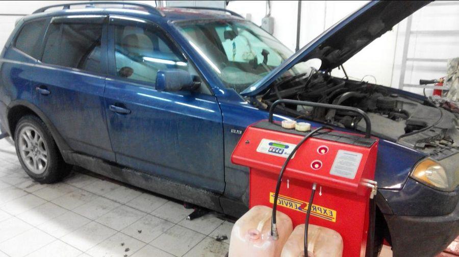 Сколько масла в двигатель в БМВ Х3 дизель