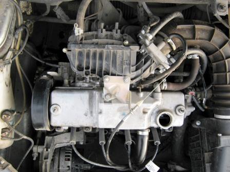 Сколько масла в двигателе калины 1.4 16 клапанов