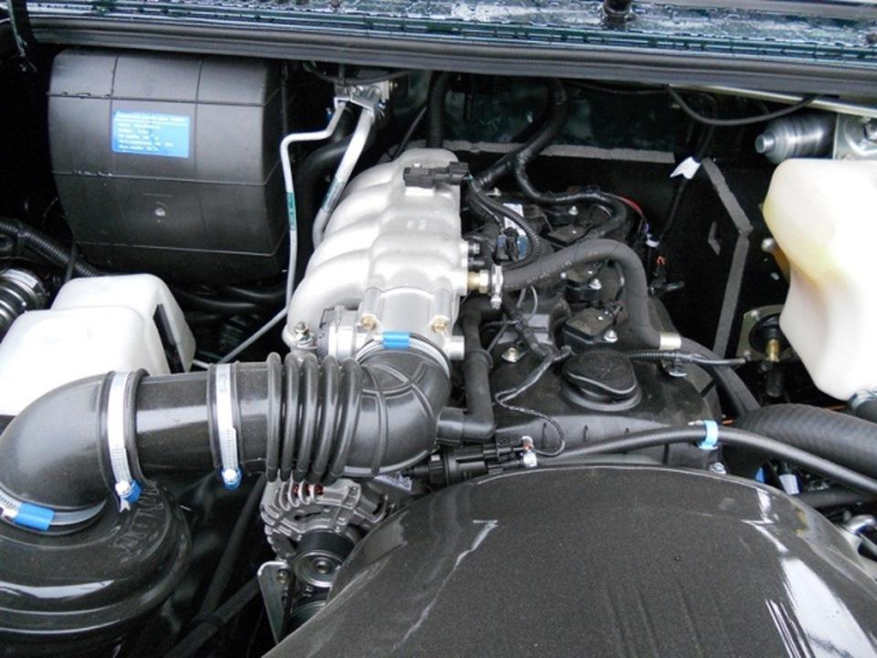 Сколько масла в двигателе УАЗ Хантер 2.7 инжектор