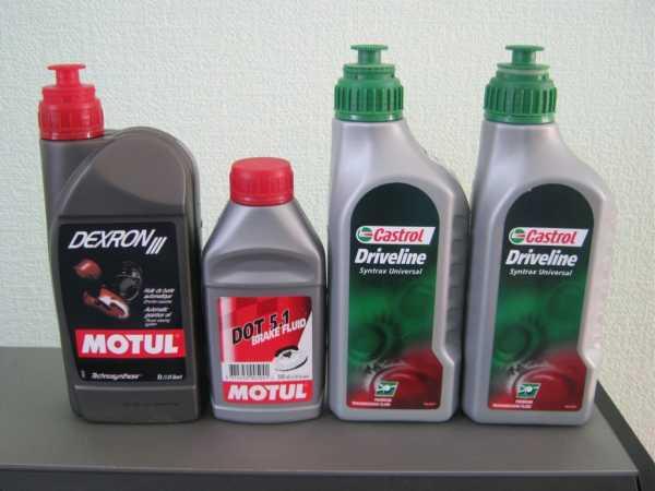 Сколько масла заливать в КПП на УАЗ Патриот