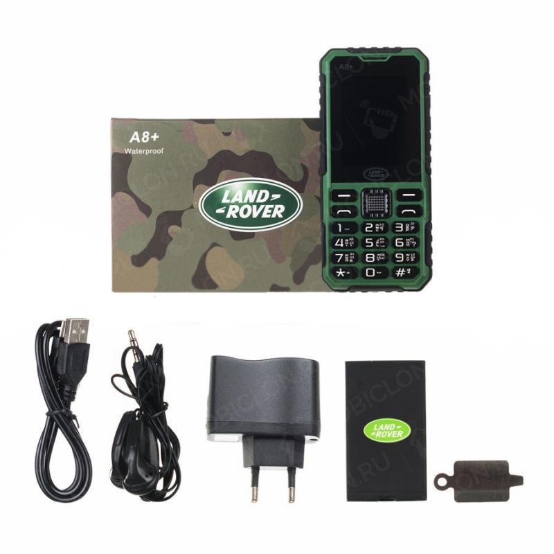 Телефон Land Rover A8 с усиленным аккумулятором в 18000 mah отзывы