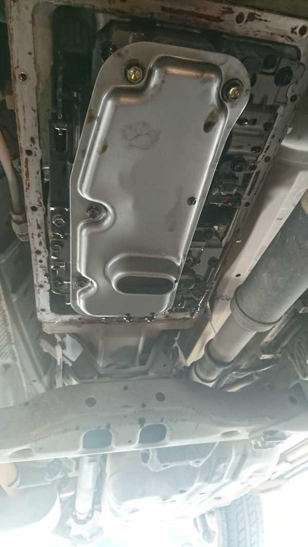 Toyota Land Cruiser Prado 120 масло в АКПП
