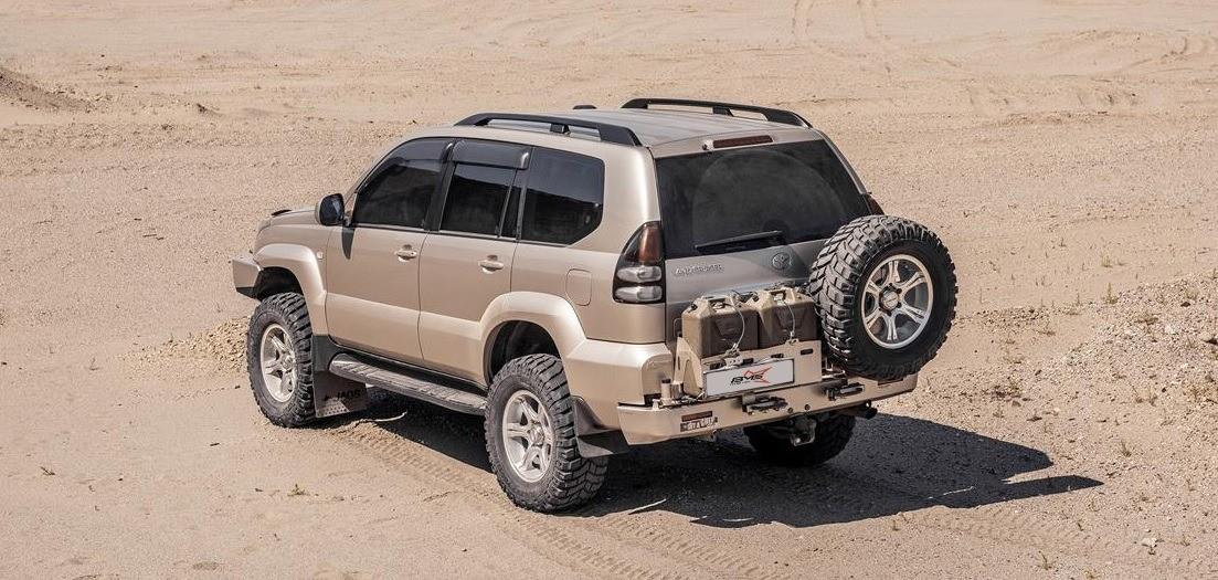 Toyota Land Cruiser Prado 120 ремонт и эксплуатация