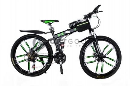 Велосипед Ленд Ровер на литых дисках цена в Москве
