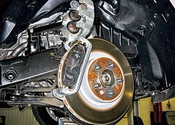 Задний тормозной диск для Land Rover Discovery 3