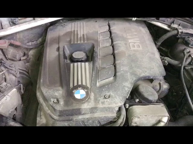 Замена клапана рециркуляции картерных газов на БМВ е46