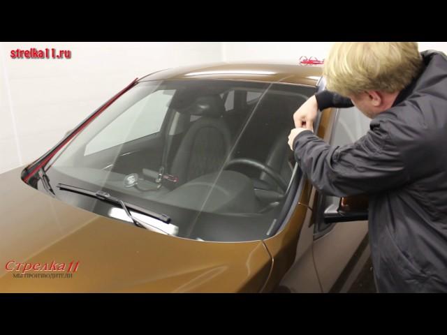 Замена лобового стекла на БМВ е39 своими руками