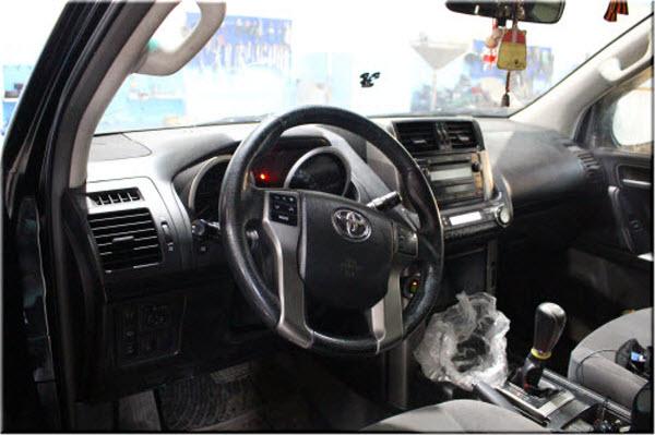 Замена масла АКПП Тойота Ленд Крузер прадо 150