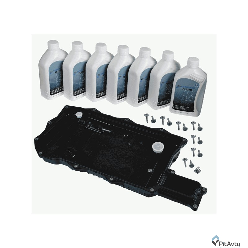 Замена масла в АКПП на БМВ 5 f10